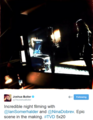 Epic scene in the making -tvd 5x20 Damon and Elena - damon-and-elena photo