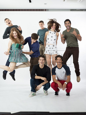EW Comic Con Photoshoot Outtakes