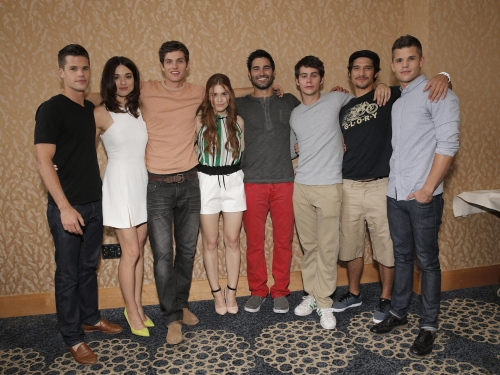 Teen Wolf Signing Booth At Comic-Con