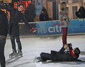 CrissColfer iceskating - darren-criss-and-chris-colfer photo