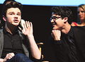 Hide your crush, Darren - darren-criss-and-chris-colfer photo
