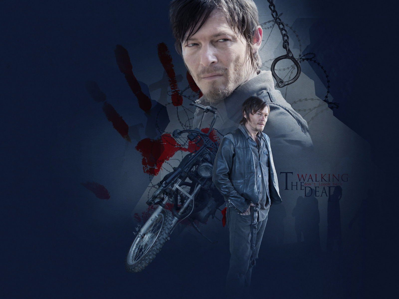Normandaryl Daryl Dixon Wallpaper 36706146 Fanpop