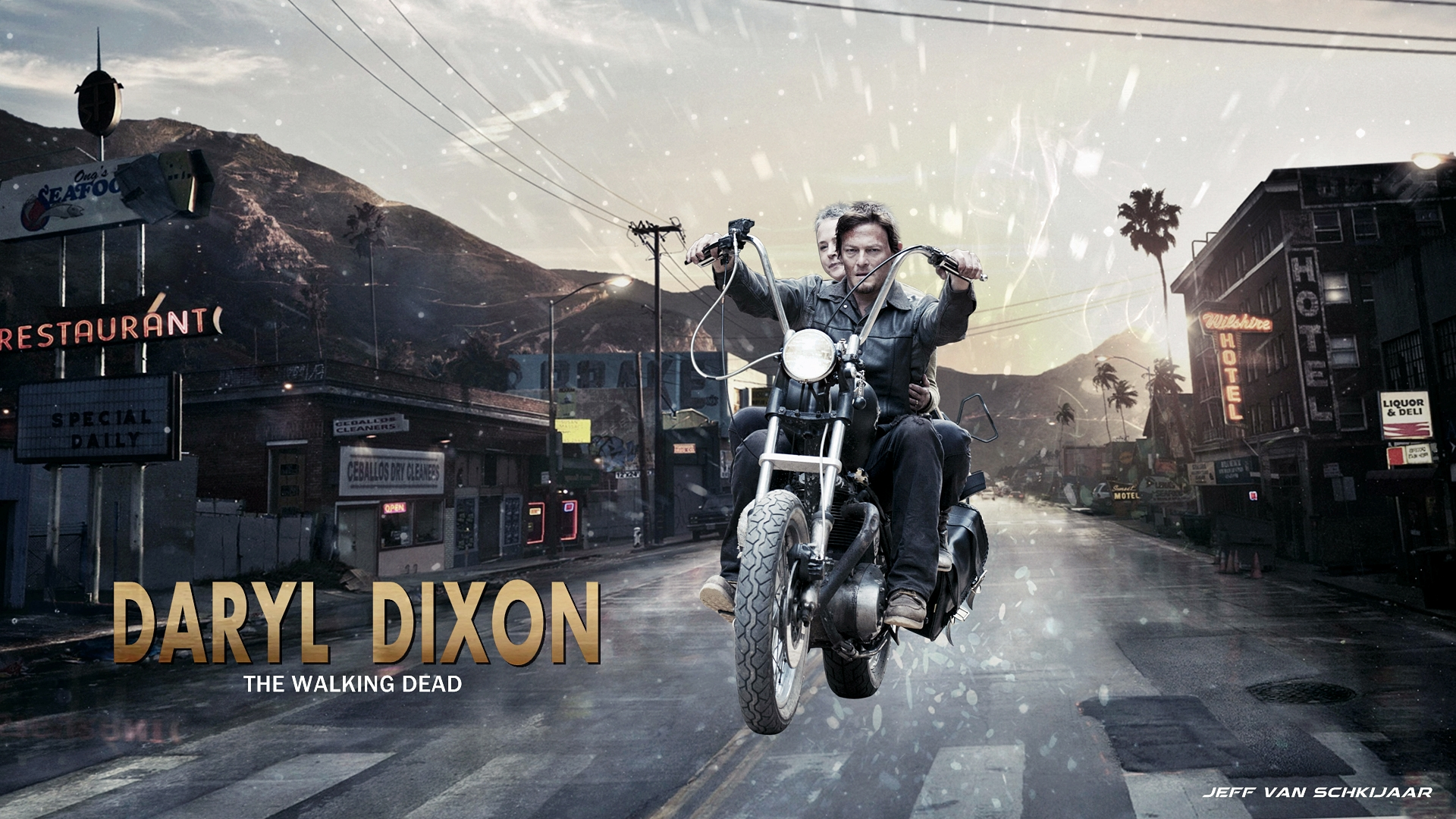 Daryl Dixon Wallpaper (36706156)