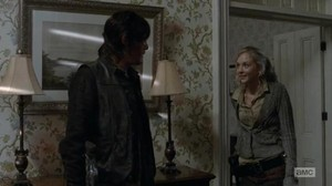 Daryl and Beth in 'Alone'