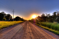 Road to sunset - design photo