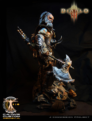 Calvin's Custom One Sixth Scale Diablo 3 Barbarian