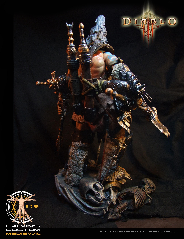 Diablo Images Calvin S Custom One Sixth Scale Diablo 3 Barbarian Hd