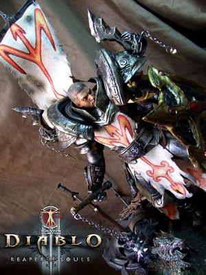 Calvin's Custom One Sixth Scale Diablo 3 Reaper of Souls Crusader