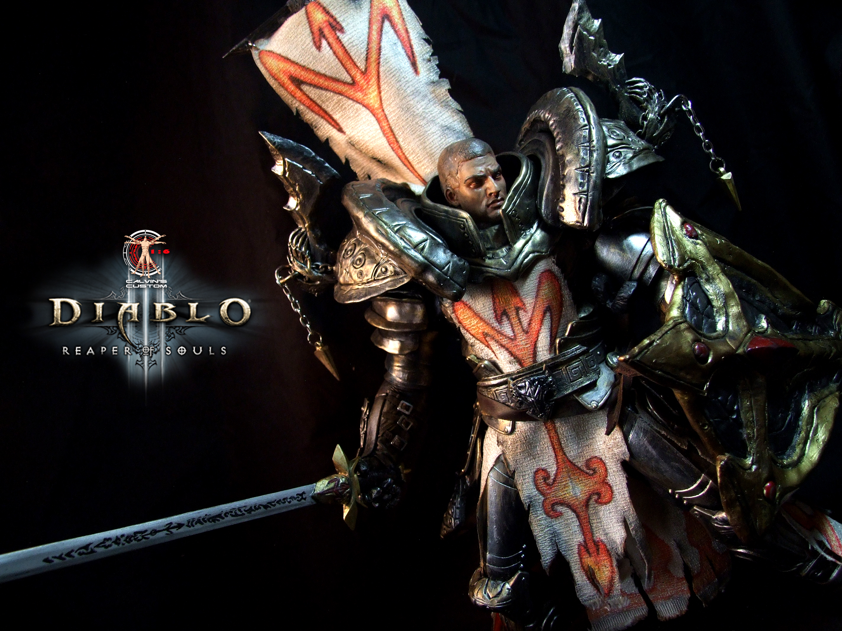 Calvin's Custom One Sixth Scale Diablo 3 Reaper of Souls