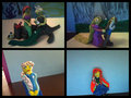 Disney Princess clay - disney-princess fan art