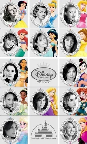 Disney Princess Voice Actresses
