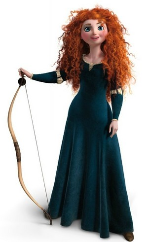Merida's Olympic look