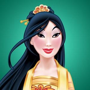 Mulan's nude look