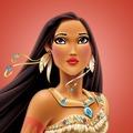 Pocahontas' chiefess look - disney-princess photo