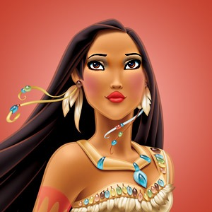Pocahontas' chiefess look