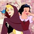 Aurora and Snow Icon for dclairmont - disney-princess photo