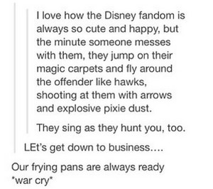 The Disney Fandom