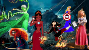 disney Princess Avengers