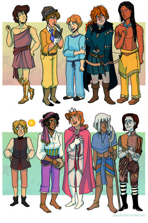 Gender Bent Princess/Heroines