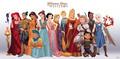disney princesses as game of thrones - disney-princess photo