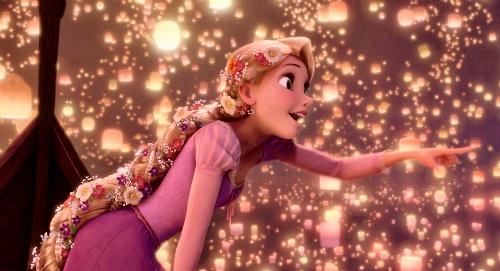 Disney Princess Wallpaper Called Lanterns Tangled