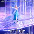 Let It Go Academy Award Winner Best Original Song - disney-princess photo