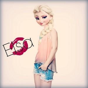 Queen Elsa fanart