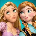 Anna and Rapunzel  - disney-princess photo