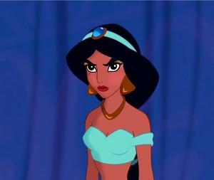 Jasmine's devilish look