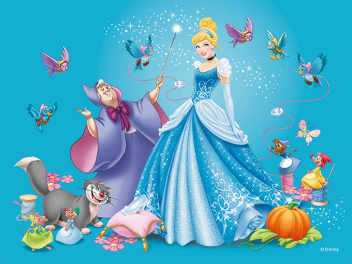 Principesse Disney wallpaper titled Cenerentola