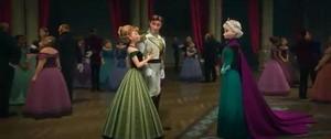 Anna, Hans, and Elsa
