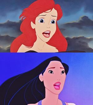 Disney Princess - Princess Ariel & Pocahontas