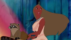 Recolored Pocahontas