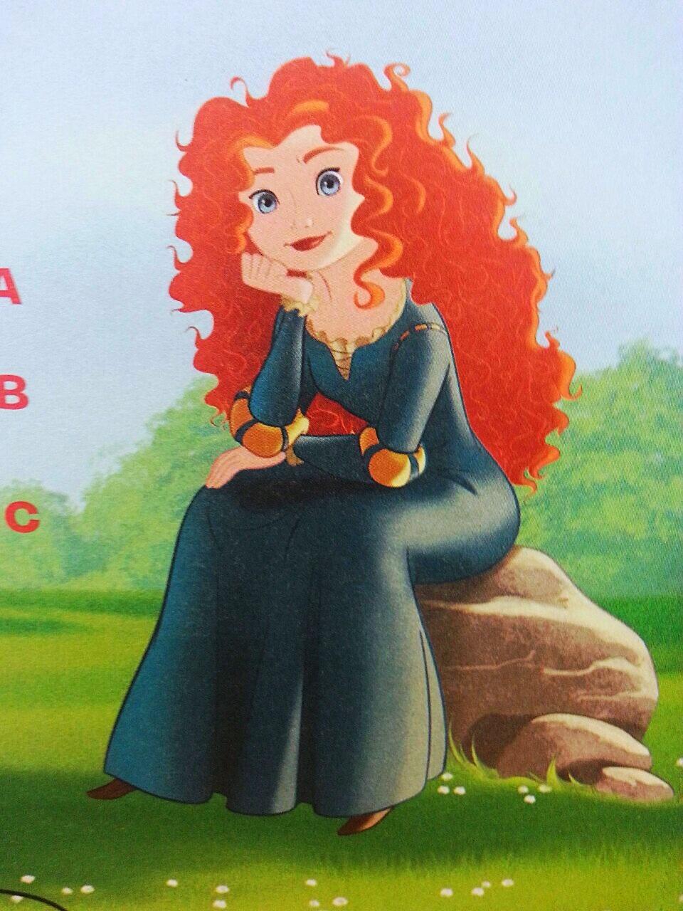 Princess merida disney princess photo 36796642 fanpop - Images princesse ...