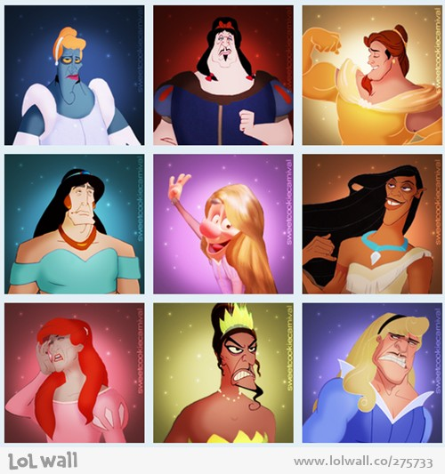 Villains as Princesses