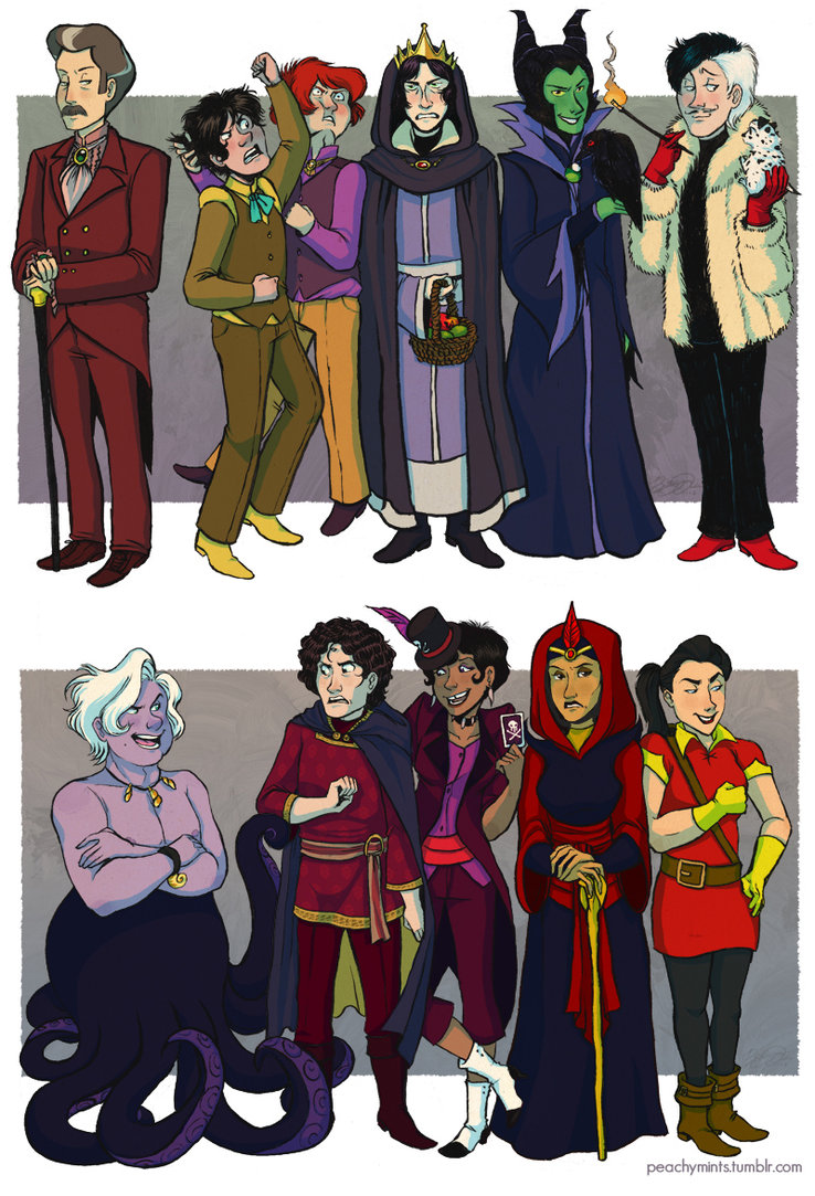 Gender Bent Villains