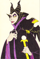 Disney Villainess, Maleficent - disney fan art