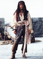 Johnny Depp As Captain Jack Sparrow  - disney photo