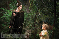 Vivienne Jolie Pitt as Young Aurora with Angelina Jolie as Maleficent - disney photo