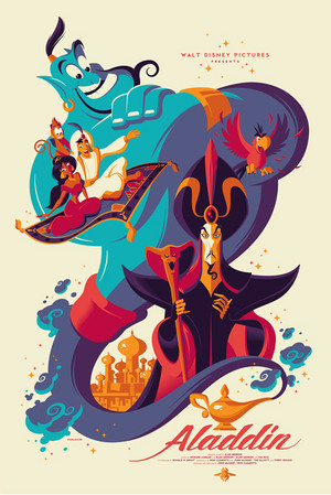 Aladdin door Tom Whalen