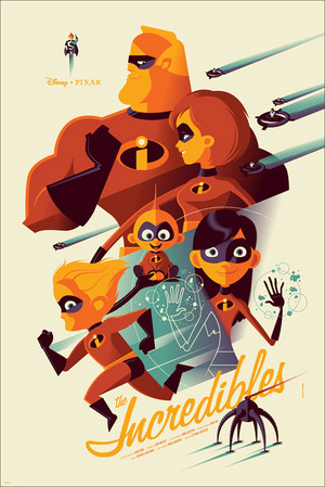 The Incredibles द्वारा Tom Whalen