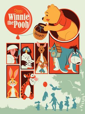 Winnie the Pooh par Dave Perillo