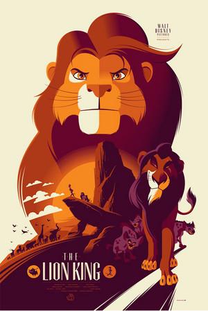The Lion King door Tom Whalen