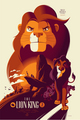 The Lion King by Tom Whalen - disney photo