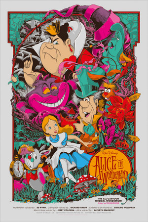 Disney's Alice in Wonderland par Ken Taylor