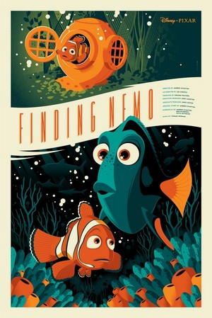 Finding Nemo door Tom Whalen