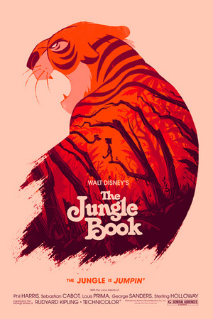 The Jungle Book sa pamamagitan ng Olly Moss