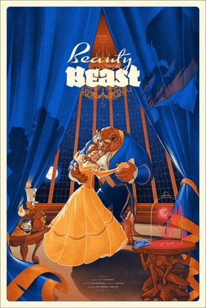 Beauty and the Beast by Martin Ansin
