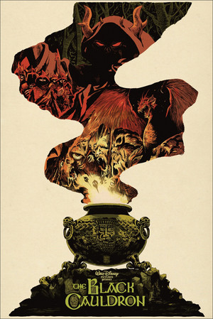The Black Cauldron oleh Francesco Francavilla