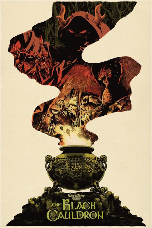 The Black Cauldron by Francesco Francavilla